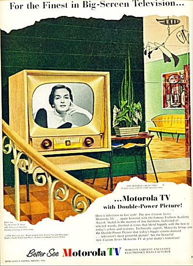Motorola TV  ad    1954 (Image1)
