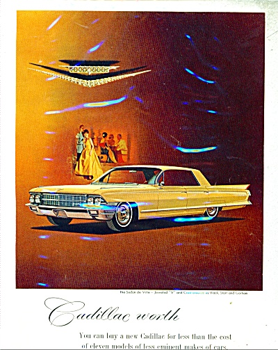1962 Cadillac Car AD Sedan DeVille Jewel V (Image1)