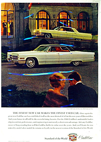 1966 Cadillac Motor Car  ad 1966 (Image1)