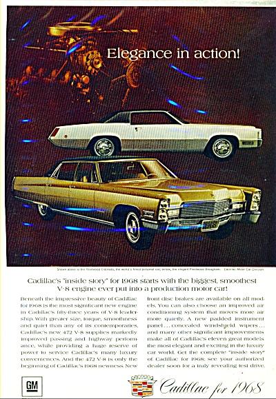 1968 Cadillac CAR AD Fleetwood ELEGANCE (Image1)