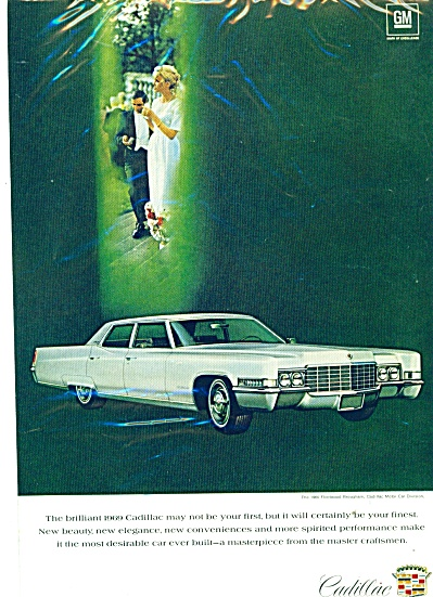 1969 Cadillac Fleetwood Brougham CAR PROMO AD (Image1)