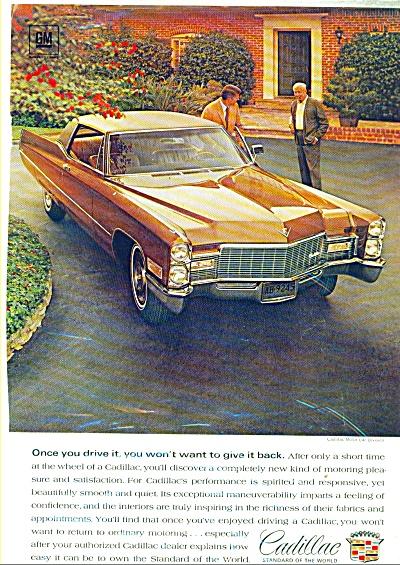 1968 Cadillac automobile ad    1968 (Image1)
