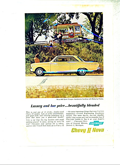 Chevy II Nova automobile ad 1962 (Image1)