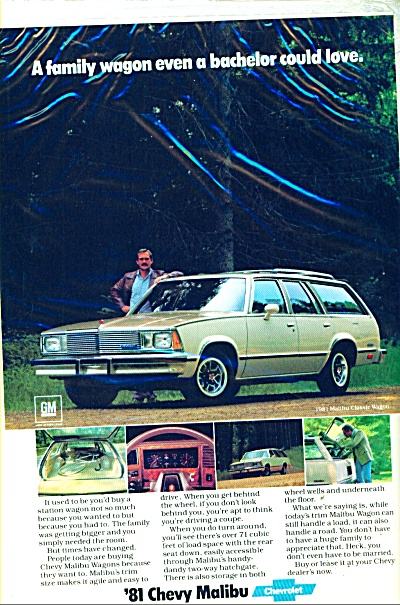 1981 Chevy Malibu automobile ad (Image1)