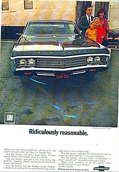 Chevrolet Impala ad  1969 (Image1)