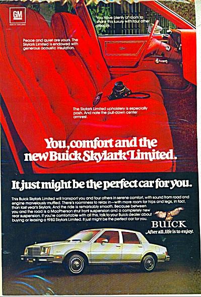Buick Skylark limited automobile ad   - 1980 (Image1)