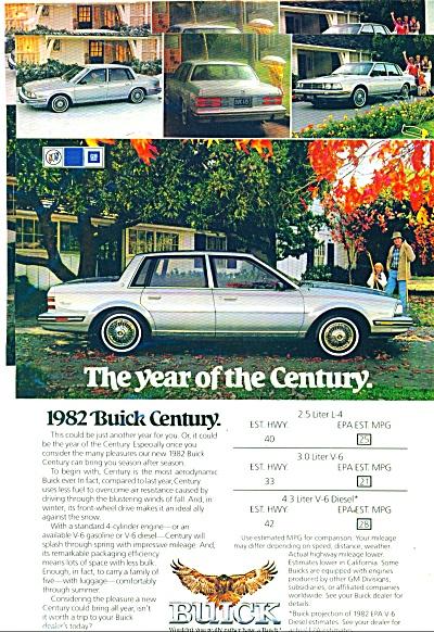 1982 Buick Century automobile ad (Image1)