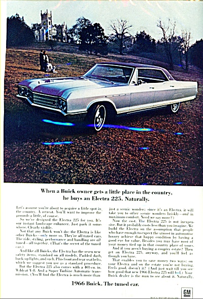 Buick Electra 225 automobile ad (Image1)