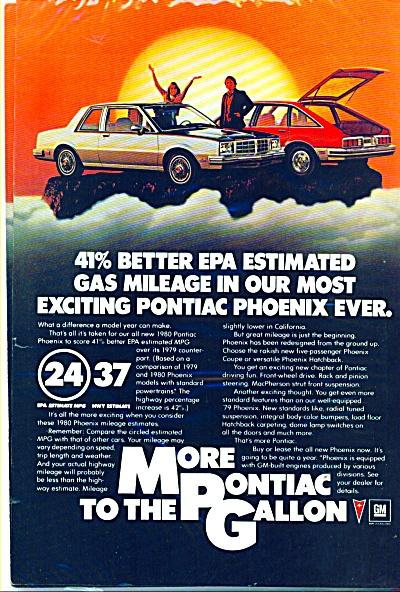 Pontiac Phoenix automobile ad . (Image1)