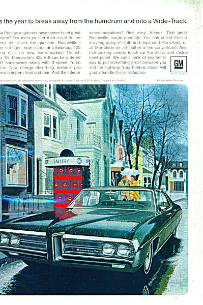 Pontiac wide track automobiles ad (Image1)