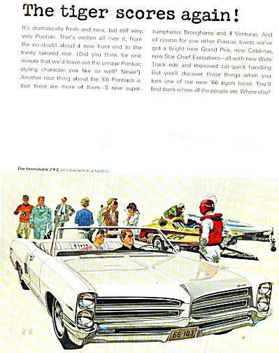 Wide Track Pontiac/ 66 ads (Image1)