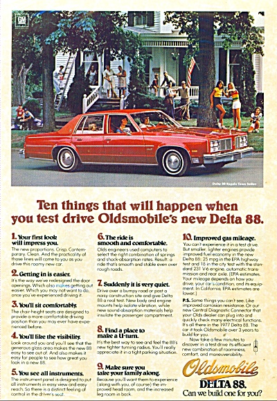 Oldsmobile Delta 88    (1979) (Image1)