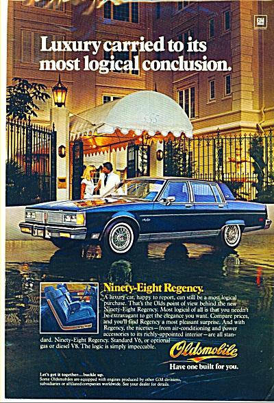 Oldsmobile Ninety-Eight regency ad (Image1)