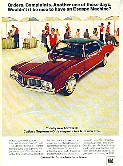 Oldsmobile Cutlass Supreme for 1970 (Image1)