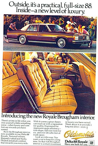 Oldsmobile Delta 88 Royale auto  ad (Image1)