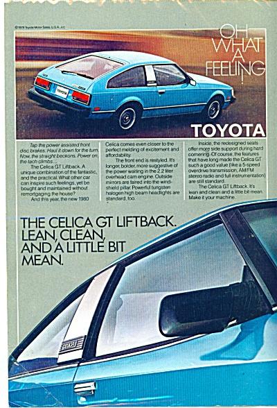 1980 TOYOTA CELICA CAR AD GT Liftback (Image1)