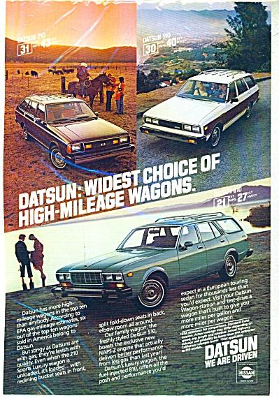 Datsun wagons ad   1980 (Image1)
