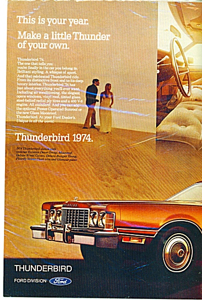 Thunderbird for 1974 ad (Image1)