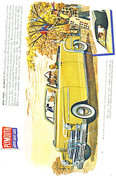 Plymouth automobile  - Ad issued 1949 (Image1)