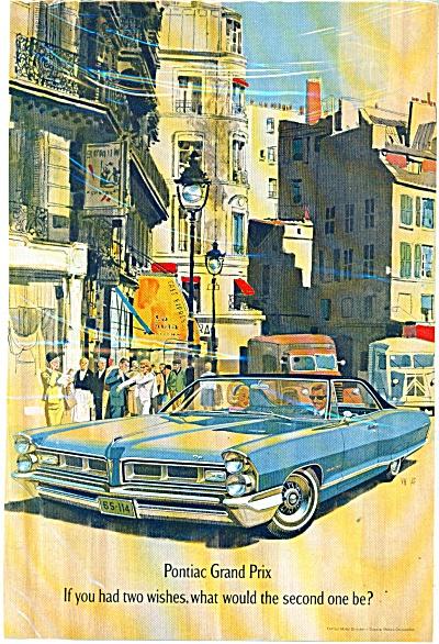 Pontiac Grand Prix  ad   1965 (Image1)