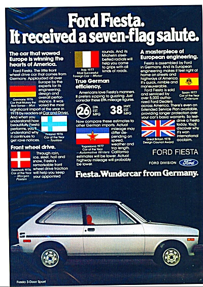 Ford Fiesta for 1986 ad (Image1)