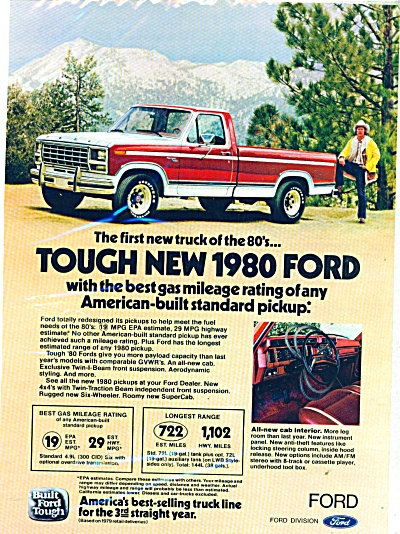 Ford Trucks for 1980 ad (Image1)