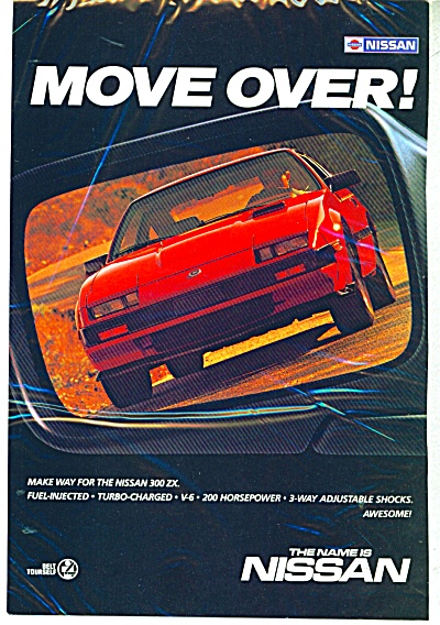 Nissan automobile  ad - dated 1985 (Image1)