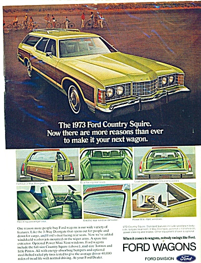 The 1973 Ford country squire ad (Image1)