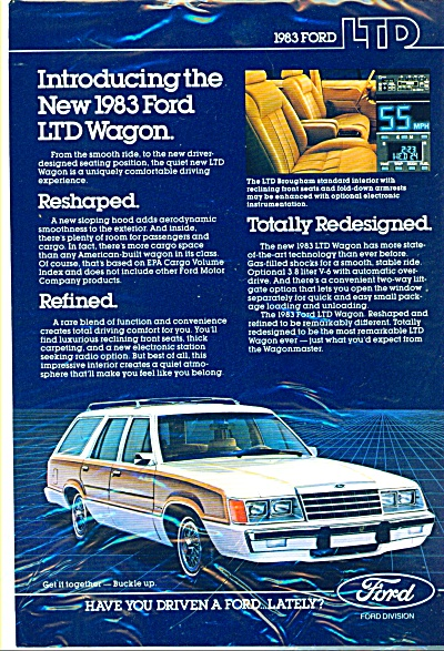 1983 Ford LTD wagon ad (Image1)