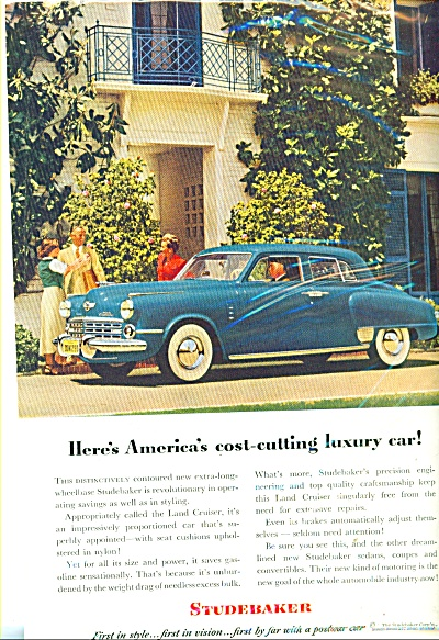 Studebaker automobile ad (Image1)