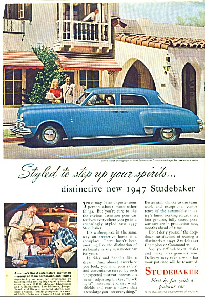 Studebaker for 1947 ad. (Image1)