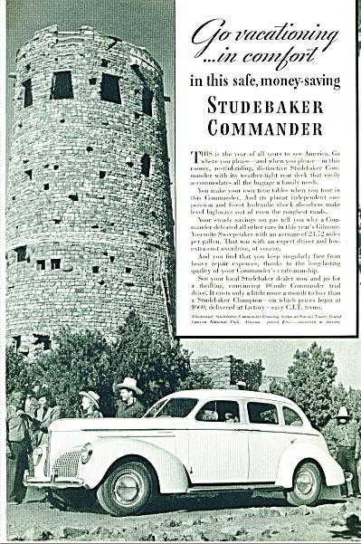 Studebaker Commander automobile ad 1940 (Image1)