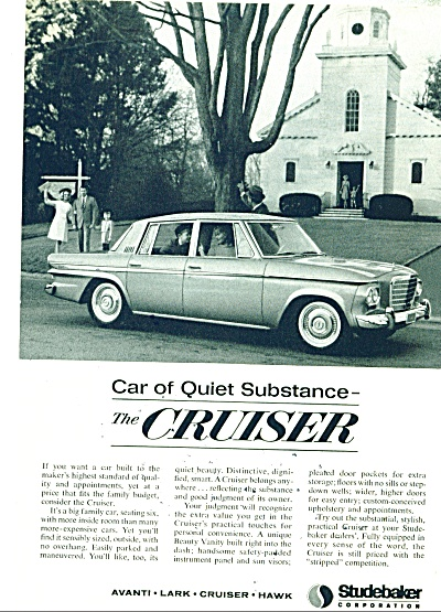 Studebaker Cruiser ad  for 1963 (Image1)