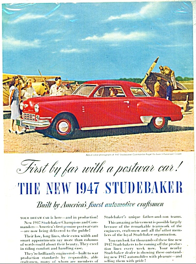 Studebaker automobile for 1947. (Image1)
