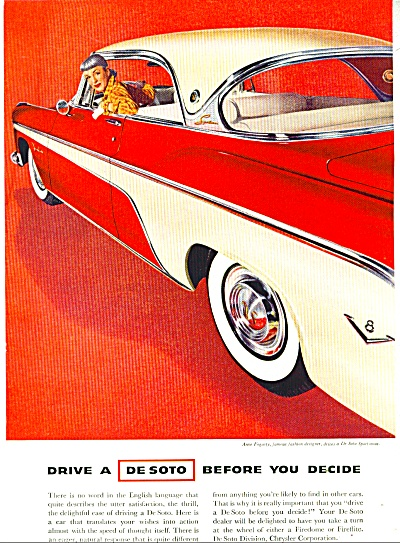 DeSoto automobile for 1955 ad (Image1)