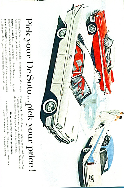 DeSoto for 1958  ad (Image1)