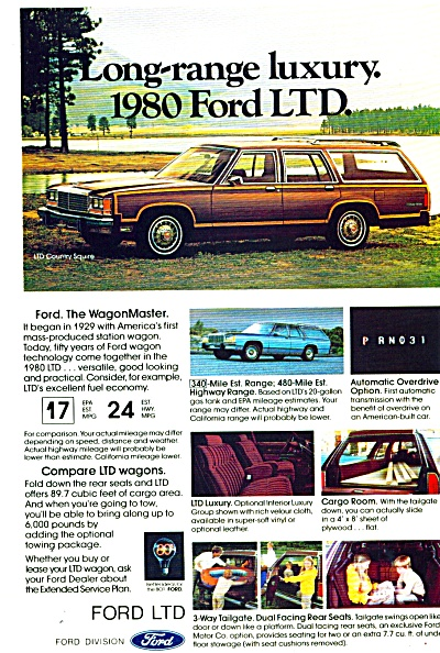 Ford LTD for 1980 ad (Image1)