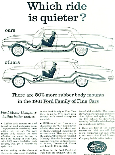 Ford Motor Company ad  1961 (Image1)