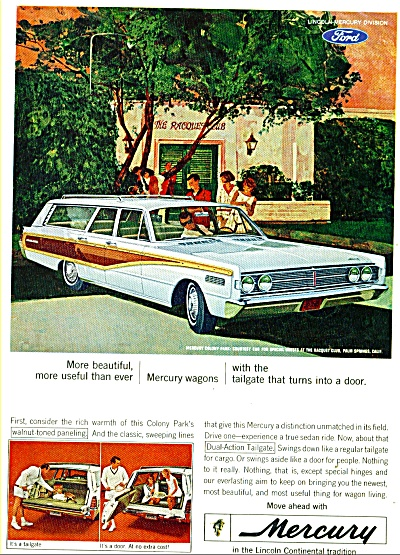 Mercury Colony Park Ad