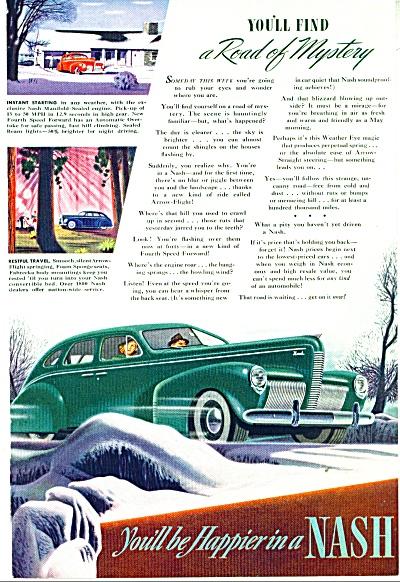 1940 Nash Car AD YOU'll BE HAPPIER (Image1)