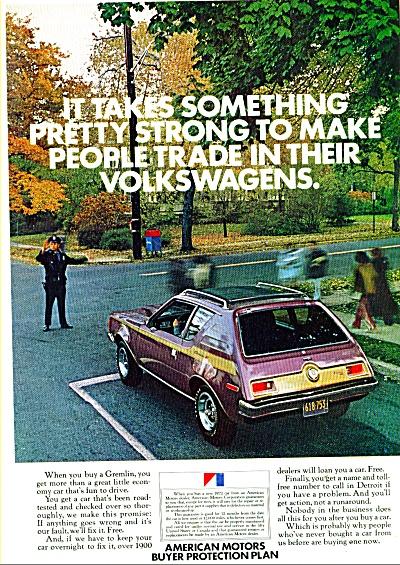 American Motors Gremlin ad   1972 (Image1)