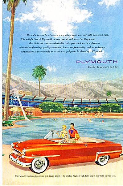 Plymouth Cranbrook convertible ad (Image1)