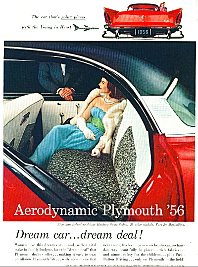Plymouth Belvedere hardtop  ad  1956 (Image1)