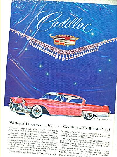 Cadillac Motor car 1957 ad (Image1)