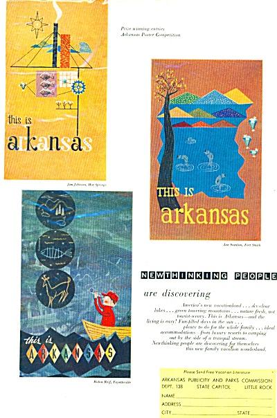 Arkansas travel guide - 1958 (Image1)