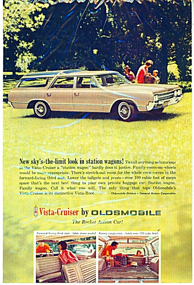 Oldsmobile Vista Cruiser Ad 1965