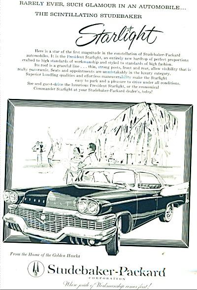 Studebaker-Packard automobile ad   1958 (Image1)