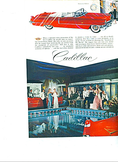 Cadillac automobile for 1956. (Image1)