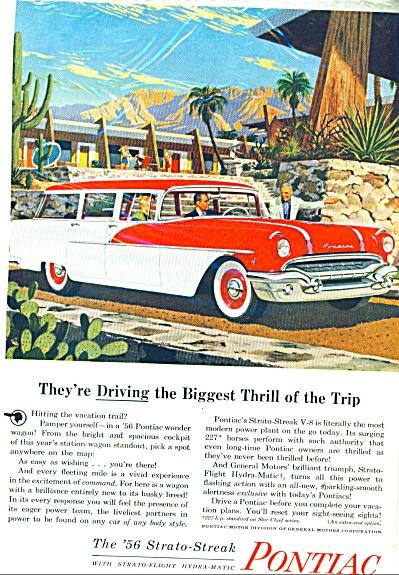 Pontiac strato streak for 1956 ad (Image1)