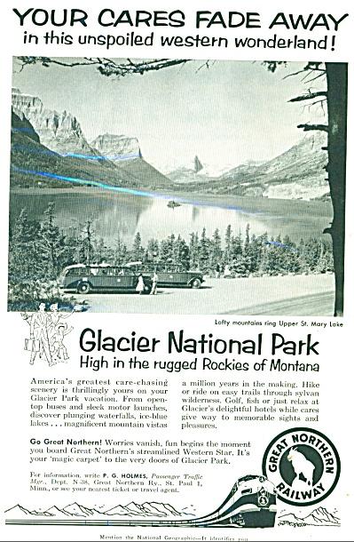 1958 Great Northern Railway St Mary Lake MT (Image1)
